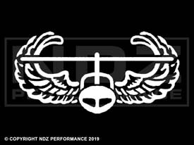 017 - US Army Air Assault Logo Solid