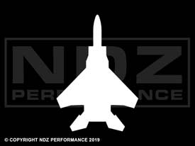025 - Aircraft F15 Silhouette