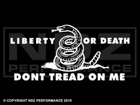 129 - Don't Tread on Me Liberty and Death