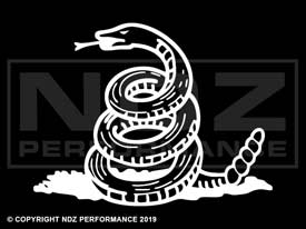 137 - Don't Tread on Me Snake Only 2