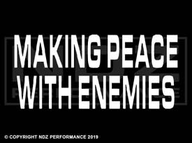 1405 - MAKING PEACE WITH ENEMIES