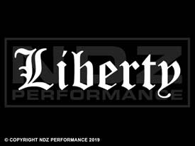 258 - Liberty Text Olde English