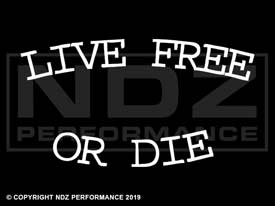 262 - Live Free or Die Text Arch