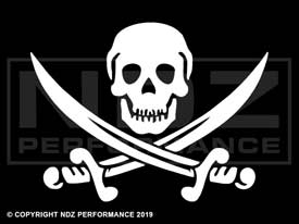 420 - Skull and Crossbones Jolly Roger