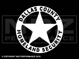 506 - Dallas County Homeland Security Logo