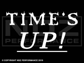 509 - Time's Up 2 Line