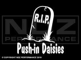 510 - Tombstone Push-in Daises