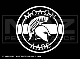 730 - Molon Labe Seal with bar