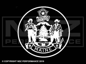 833 - Seal Of Maine