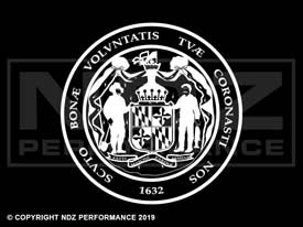 834 - Seal Of Maryland