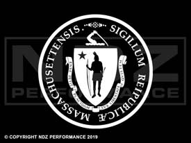 835 - Seal Of Massachusetts