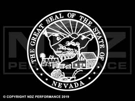 841 - Seal Of Nevada