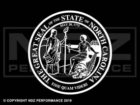 846 - Seal Of North Carolina