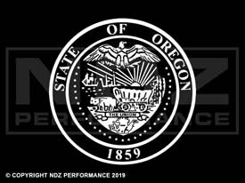850 - Seal Of Oregon