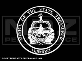 858 - Seal Of Vermont
