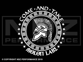920 - Molon Labe Come and Take It Circle